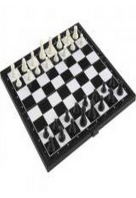 Chess Checkers Folding Magnetic Board
