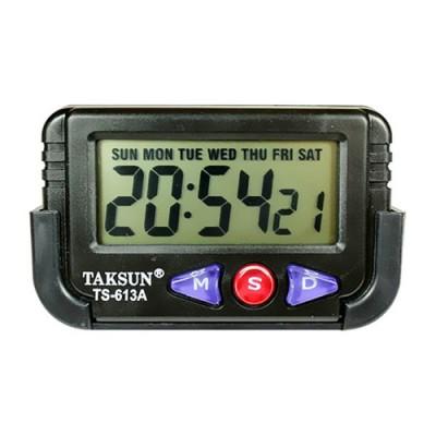 Taksun Quartz LCD Clock Stopwatch-C: 0163