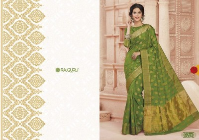 Rajguru Exclusive  Saree with blouse piece
